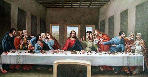 Ảnh thực tái hiện lại các bức tranh nổi tiếng thời Phục Hưng