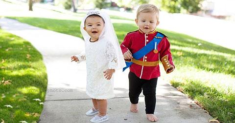 Cô bé 3 tuổi trở thành Nữ hoàng hóa trang của Halloween