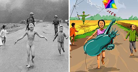 Khi những bức ảnh trẻ em ám ảnh cả thế giới trở nên tươi sáng hơn