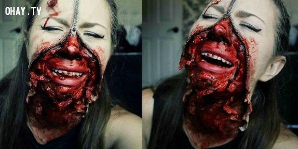 ảnh halloween,trang phục halloween,kinh dị