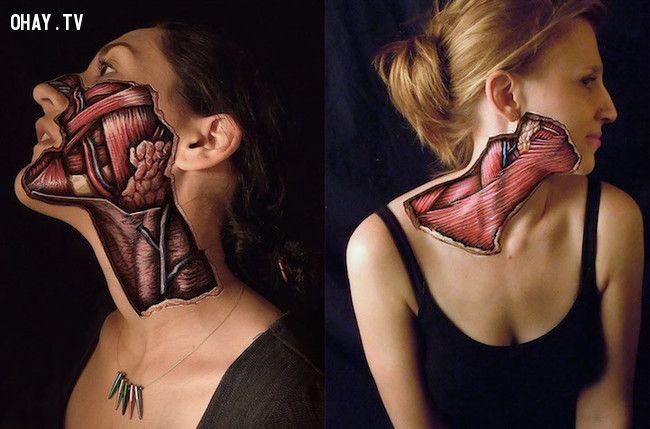 ảnh Body painting