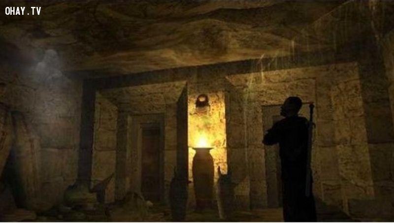 ảnh bí ẩn,bí ẩn cổ xưa,cổ đại,điều bí ẩn,bí ẩn lịch sử,bí ẩn thế giới,kim tự tháp hellinikon,dấu chân antelope springs,đường hầm baiae