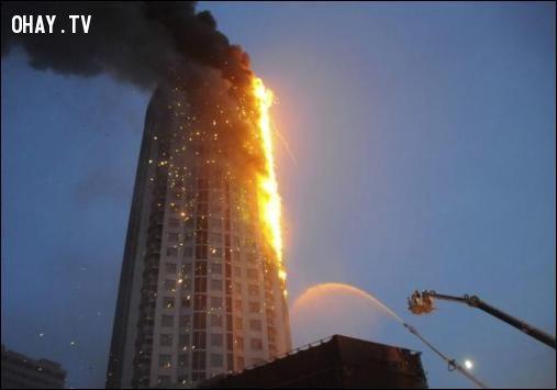 cháy trung cư