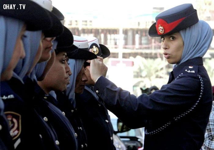 Chiêm ngưỡng VẺ ĐẸP của các nữ cảnh sát trên TOÀN THẾ GIỚI