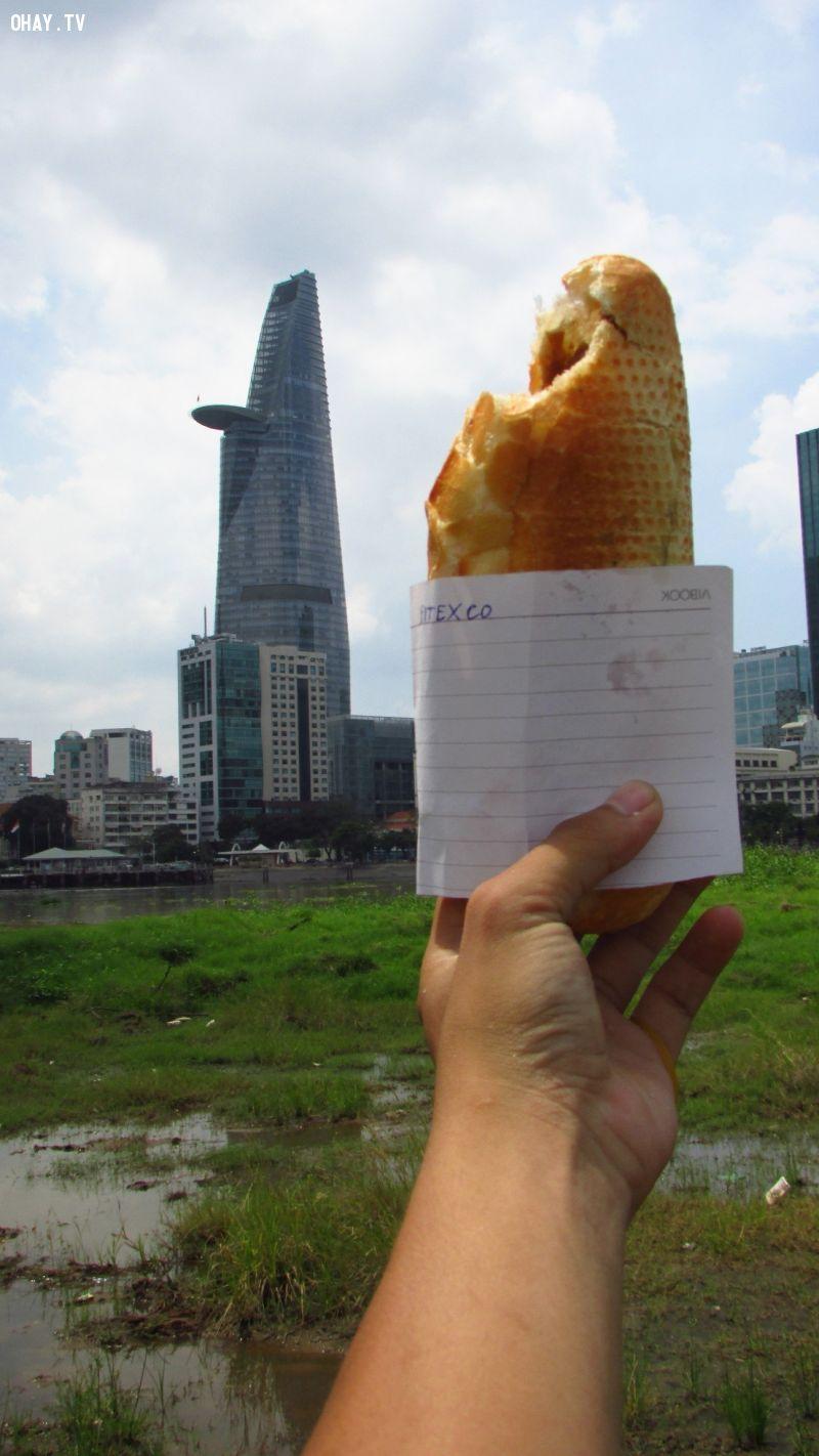 ảnh bánh mì sài gòn,sài gòn,nhiếp ảnh,tòa tháp bitexco,Canon PhotoMarathon