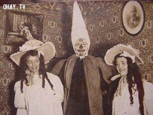 ảnh hóa trang,halloween,ma quái,hóa trang halloween,kinh dị