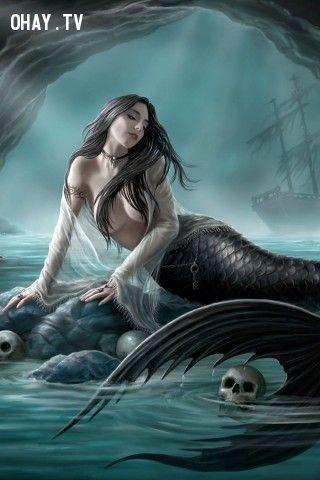 Người cá trong nhiều truyền thuyết là những sinh vật xinh đẹp chuyên đi quyến rũ đàn ông và dìm chết họ.