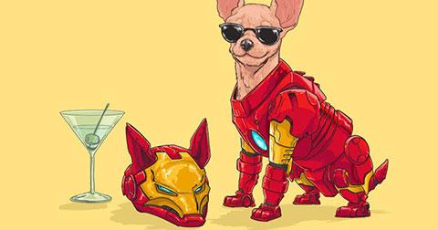 Khi những chú chó trở thành siêu anh hùng trong huyền thoại