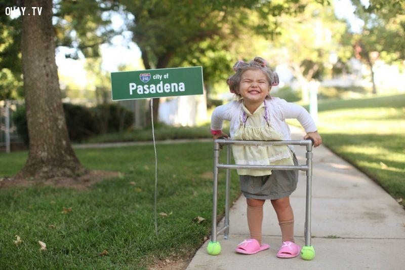 """Bà cụ non"" 3 tuổi"
