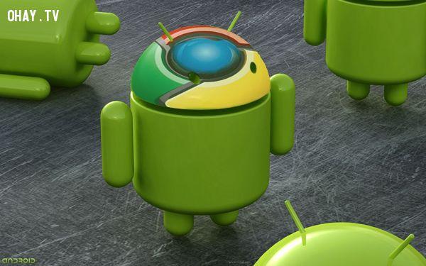 Chrome os sẽ được tích hợp vào Android.