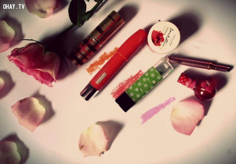makeup cho đôi môi nào