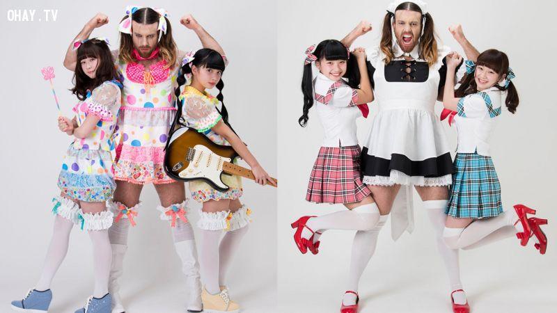 ảnh ladybeard,kawaii,nippon manju,đô vật