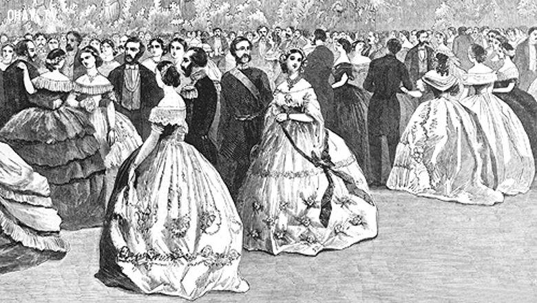 Dạ hội hóa trang của quý tộc châu Âu