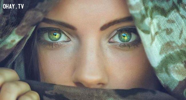 ảnh đôi mắt,cửa sổ tâm hồn,fact,có thể bạn chưa biết