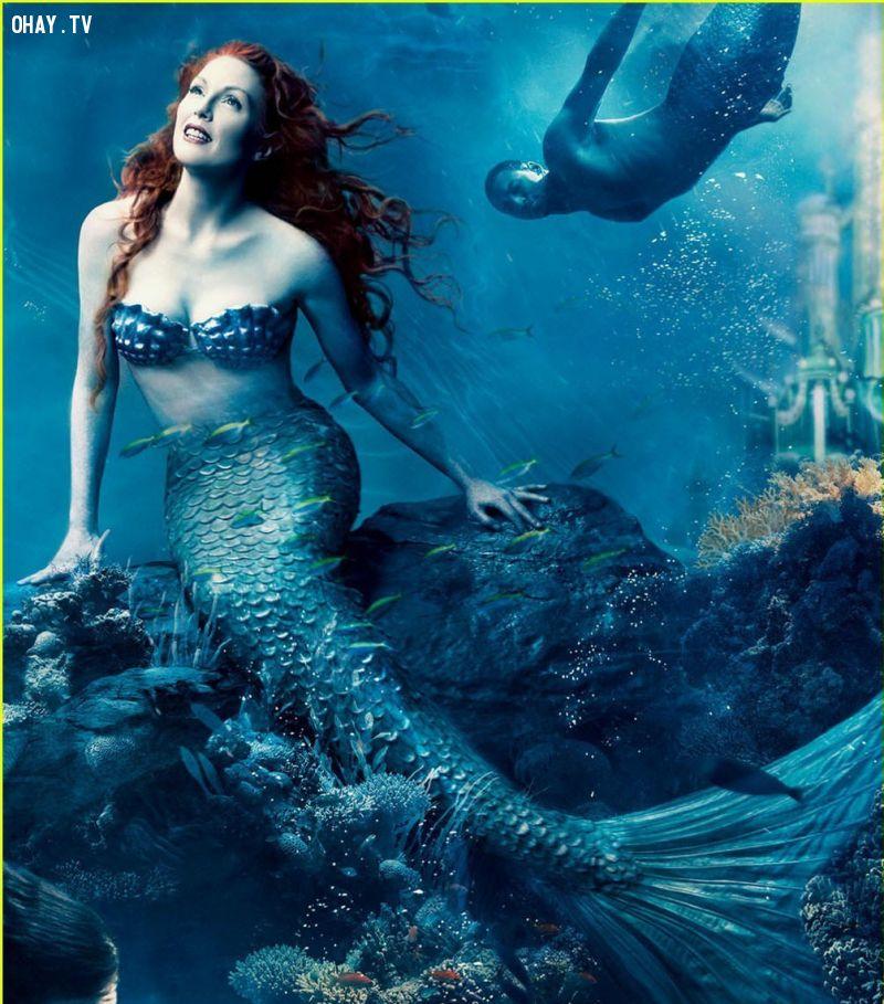 Nàng tiên cá trong tưởng tượng của con người là một mỹ nhân rất xinh đẹp.