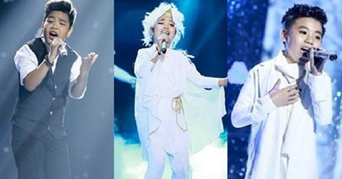 Chương trình giọng hát việt nhí 2015 có đến 3 giải quán quân.