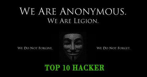 Top 10 hacker đình đám nhất trong lịch sử nhân loại