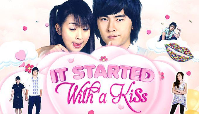 It started with a kiss phiên bản Đài Loan gây sốt một thời