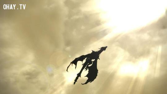 Dargon truro english, rồng xuất hiện trên bầu trời truro, rồng xuất hiện, rồng có thực