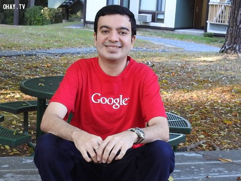 ảnh google,hack google,tên miền google,Sanmay Ved
