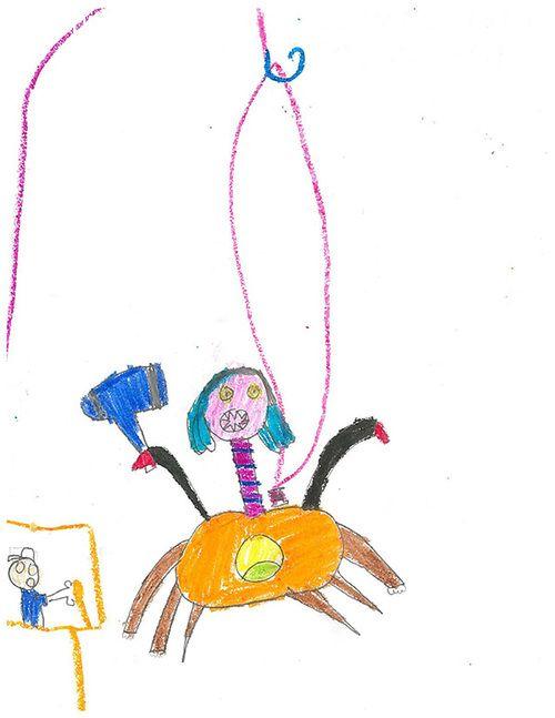 ảnh hình vẽ,hình vẽ của trẻ em,họa sĩ,the monster