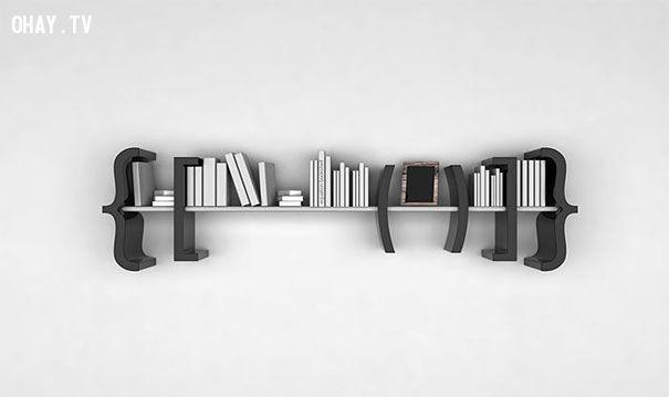 Tủ sách dấu ngoặc