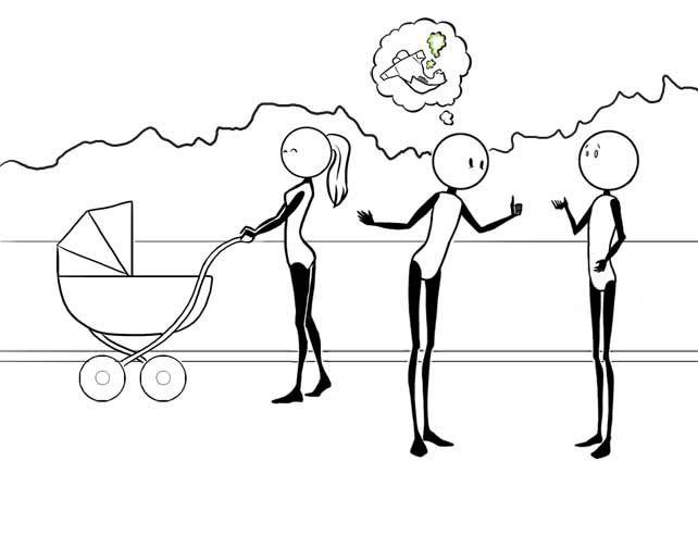 Điều Mà Chỉ Những Bố Mẹ Lần Đầu Sinh Con Mới Hiểu Nổi !