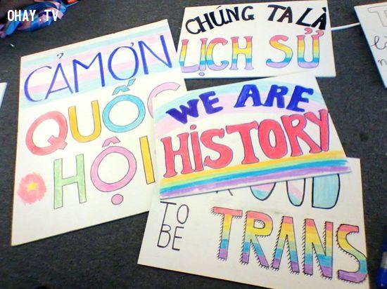 Công bố luật chuyển giới ở Việt Nam