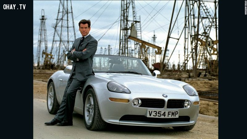 15 mẫu xe hơi siêu đẹp của Điệp viên 007 - James Bond