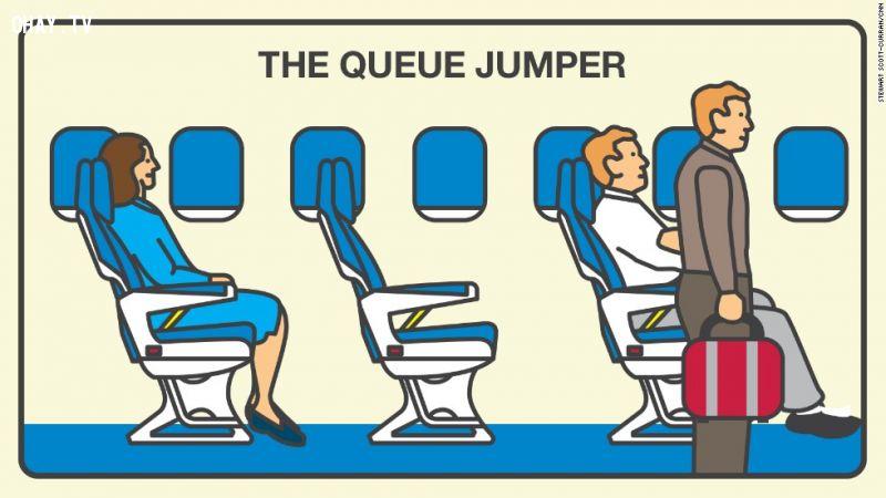 ảnh đi máy bay,hàng không,hành khách,khó chịu,vô ý thức