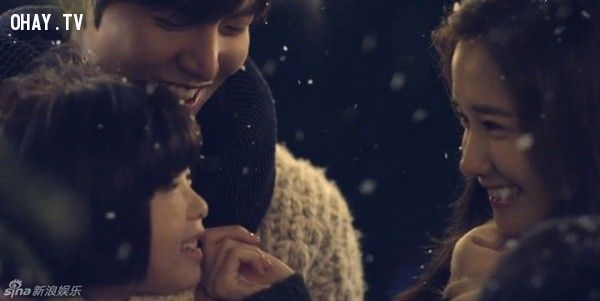 Hình ảnh hạnh phúc ngọt ngào của Lee Min Ho và Yoona.