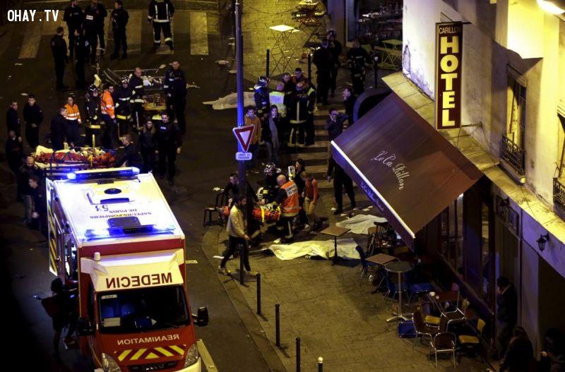 Vụ khủng bố kinh hoàng tại Pháp ngày 13/11 vừa qua