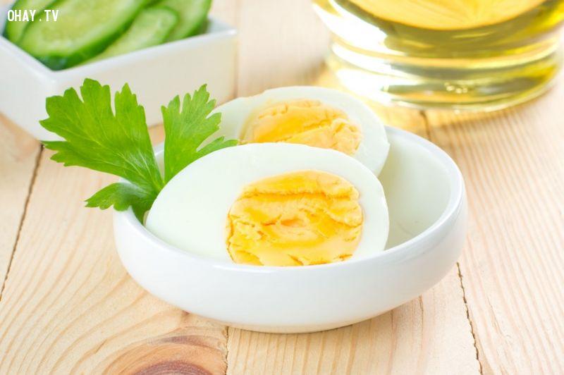 10 thực phẩm nên ăn mỗi ngày: Trứng