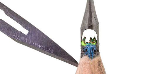 Nghệ thuật trên chiếc ngòi chì