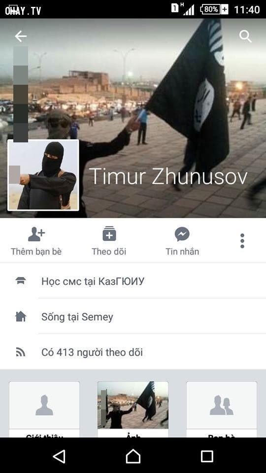 ảnh khủng bố,is và việt nam,mạng xã hội,cộng đồng mạng