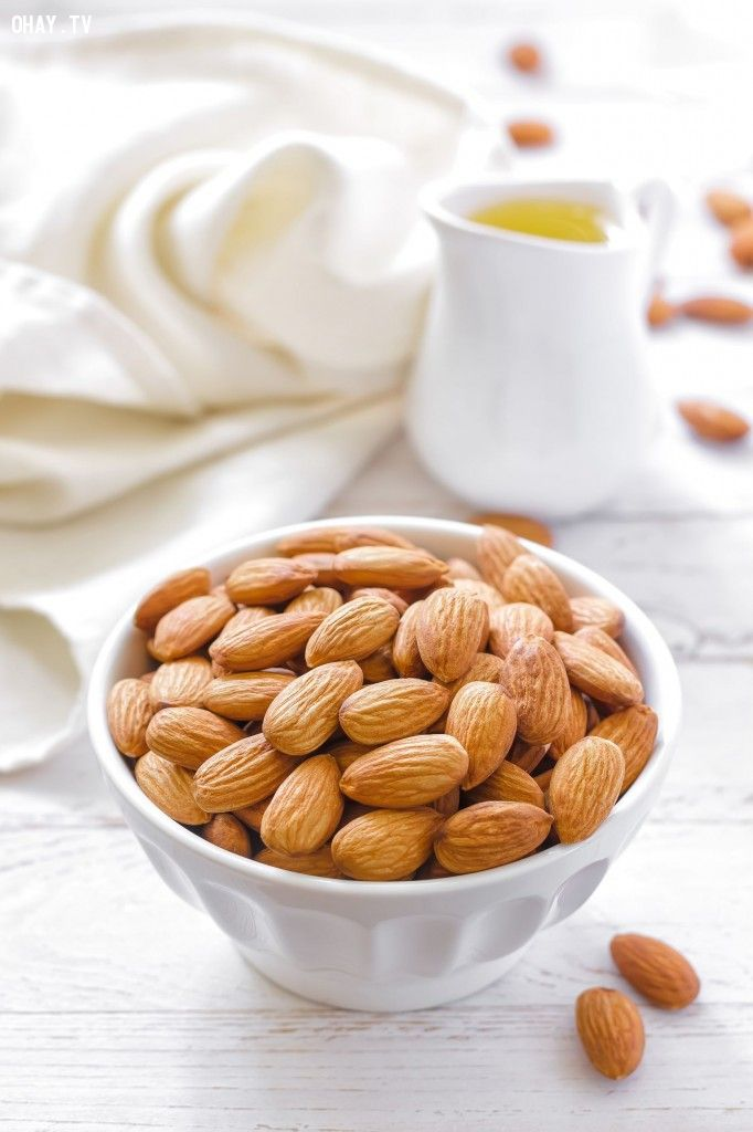 10 thực phẩm nên ăn mỗi ngày: Hạnh nhân