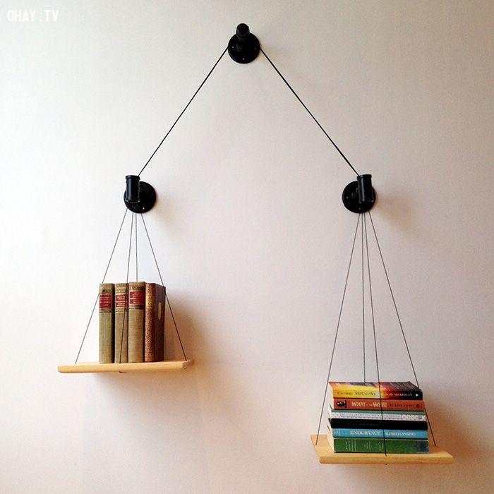 Giá sách cân bằng