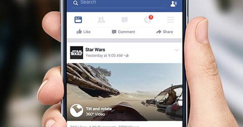 Cách đăng video 360 độ lên Facebook