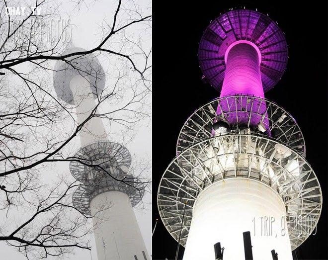 Tháp Namsan- cảnh quay trong phim Rooftop Prince