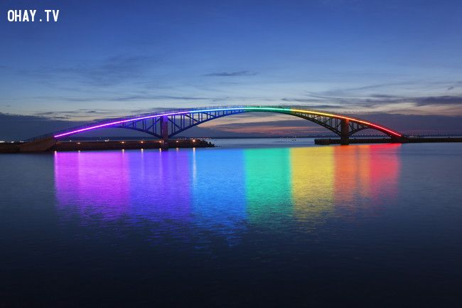 ảnh cây cầu,cầu kì lạ,cầu nguy hiểm,cầu độc đáo,kiến trúc lạ
