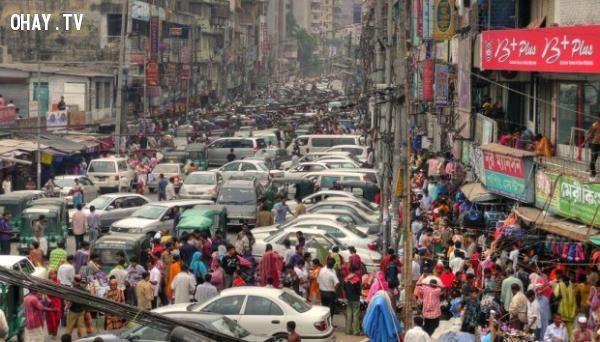 Quốc gia có mật độ dân số cao nhất thế giới