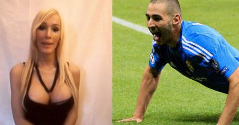 Benzema bên ngoài sân cỏ -  Ông hoàng scandal tình dục