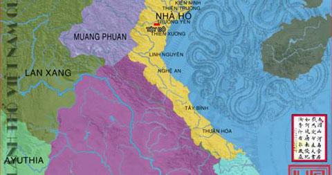 Bản đồ Việt Nam qua các giai đoạn từ thế kỷ 10 - Phần 2