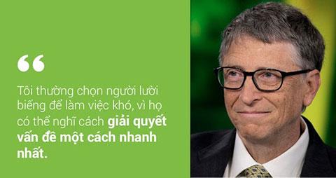 10 Câu châm ngôn sâu sắc của tỉ phú Bill Gates bạn nên đọc