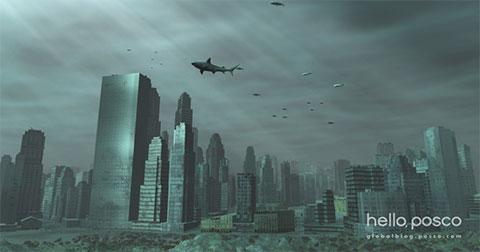 Những đường hầm trong lòng đại dương giúp con người có thể sống dưới biển trong tương lai.