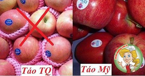 Mẹo nhận biết rau quả Trung Quốc độc hại