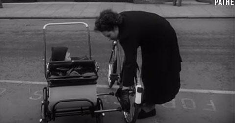 Pram Car - Ý tưởng xe nôi tuyệt vời từ năm 1951