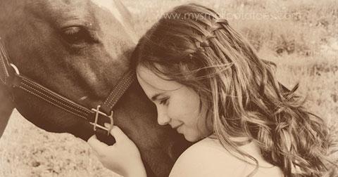 Hãy cư xử với những cô gái như cách bạn làm với những con ngựa