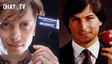 ảnh Steve Jobs,Bill Gates