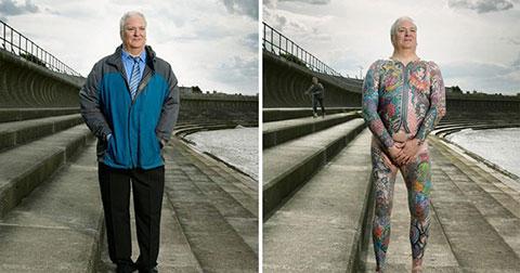 Bộ ảnh chân thực về những hình xăm ẩn giấu dưới lớp quần áo thường ngày